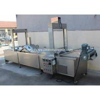 Wholesale Full Auotmatic Peanut Frying Machine for Sale from china suppliers