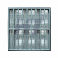 Quality Computer Room Perforated Raised Floor , Steel Air Flow Panel 600 x 600 for sale