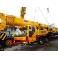 Wholesale Yellow Diesel Telescopic Boom Crane QY35K5 / 36930kg Truck Crane from china suppliers