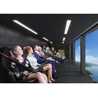 Wholesale Happy Tour in 72 People Flying Theater with Dome Screen Dynamic Seats from china suppliers