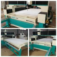 Quality pure water cutting 1500*2500MM water jet cutting machine with 100mm thickness white plastic honeycomb platform for sale