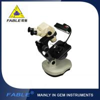 Wholesale Ellipse base Generation 3rd  Swing arm type Gem Microscope With F11 binocular lens from china suppliers