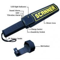High Sensitivity Hand Held Security Detector , Metal Detector Scanner For Airport