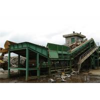 Wholesale Economical Steel Shredder Machine With Operation Room For Empty Cans / Bicycles from china suppliers