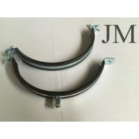 Quality 150 mm Heavy Duty Pipe Clamps With Rubber Lined M8 / M10 Nut Connection for sale