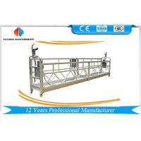 Quality ZLP Series Painted / Aluminum Suspended Scaffolding Platform Lifting Speed 8 ~ 10 m/min for sale