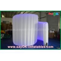 Wholesale White Inflatable Led Lighting Inflatable Sprial Wall Photo Booth Background from china suppliers