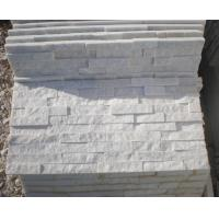 Wholesale Snow White Quartzite Stone Cladding Super White Quartzite Stone Veneer Natural Stone Z Panel from china suppliers