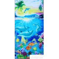Wholesale Cotton Custom Printed Beach Towels Dryfast Family Beach Towel for Kids from china suppliers