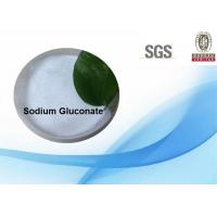 Wholesale 98.8% Sodium Gluconate Powder , Sodium Gluconate In Concrete For Cosmetics / Construction from china suppliers