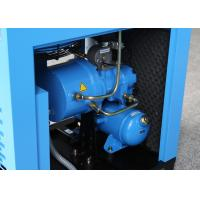 Buy cheap 7.5kW 10HP Variable Frequency Drive Compressor , Rotary Screw Type Stationary Air Compressor from wholesalers