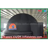 Wholesale 6m Black Inflatable Planetarium Dome Projection Screen Tent With Logo Print from china suppliers