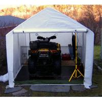 Buy cheap 2.5m(8.2') wide Mini Garden Storage Sheds, Cheap Motorcycle Garage, Portable Shelters from wholesalers