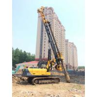 Wholesale TYSIM KR80A Hydraulic Rotary Bored Piling Rig Machine With 80 KN.M Max Torque Bored Hole Pile Machine from china suppliers