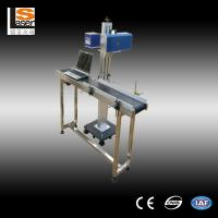Wholesale High Precision CO2  Flying Laser Marking Machine For Packing Box / Plastic Button from china suppliers