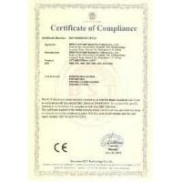 Ningbo Dalishi Crane Lifting Machinery Co., Ltd. Certifications