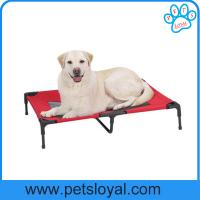 Wholesale Oxford Fabric Outdoor Dog Bed Elevated Pet Cot Bed Factory from china suppliers