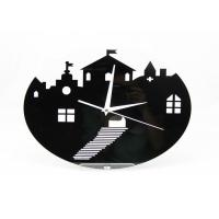 Wholesale Custom Kids Antique Acrylic Mirrored Wall Clock , Wall Decoration Sticker Clock from china suppliers