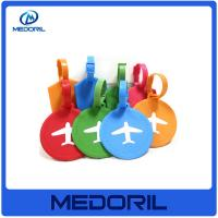 Wholesale Custom design pvc / eco-friendly silicone material luggage tag wholesale from china suppliers