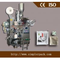 Quality Pyramid/Triangle Nylon Teabag Packing Machine with envelope for sale