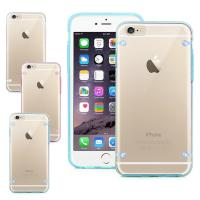 Wholesale Transparent Clear Smartphone Protective Case For iPhone 6 6S With 4 PointsBack Cover from china suppliers