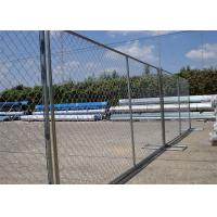 "Quality 8'x12' tubing 1⅜""(35mm) x 16ga thickness chain link us standard temporary fencing 13ga/2.3m diameter for sale"