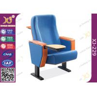Wholesale Beech Plywood Auditorium Theater Seating / Lecture Hall Chairs With Writing Tablet from china suppliers