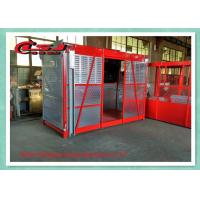 Wholesale Temporary Construction Electric Cage Hoist For Power Plants / Bridges Building from china suppliers