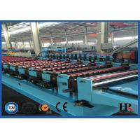 Wholesale 1.25m Width Wall Panel Roll Forming Machine With Manual Shearing Device from china suppliers