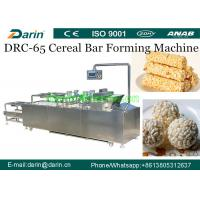 Wholesale Crispy Puffed Snack Roasted Barley Cereal Bar Forming Machine SUS304 Material from china suppliers