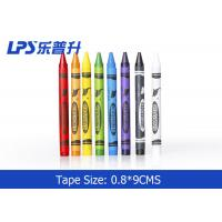 Wholesale Regular 12 Colors Crayon Gel Wax Crayons , Non Toxic Silky Wax Crayon Pen from china suppliers