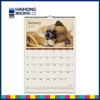 Wholesale Personalized picture wall calendar printing  wire bound or saddle stitch  Binding from china suppliers