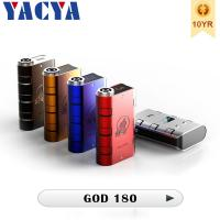 Wholesale Variable Wattage180watt 510  Electronic Cigarette smy God 180 Mod Built-in Air Flow Control from china suppliers