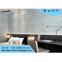 Wholesale Modern Grey NonWoven Removable Wallpaper , Modern Wallpaper For Walls from china suppliers