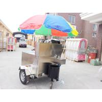 Wholesale Mobile Fryer Food Stainless Steel Hot Dog Cart With Small Wheels from china suppliers