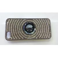 Wholesale Silver iPhone4 Cell Phone Case Bling Shining Crystal Anti - slip For Girl from china suppliers