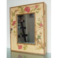 Wholesale Decorative storage wooden Mirror cabinet from china suppliers