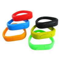 Wholesale Fashion bracelet 128MB Wristband USB Flash Drive version 2.0 with CE ( MY-UWB03) from china suppliers