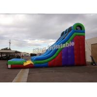Wholesale Commercial Grade Giant 24 Feet Dual Lane Inflatable Water Slide Sport Games from china suppliers