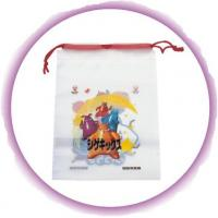 Wholesale Promotional Candy / Cookies / Chocolate Drawstring Plastic Bags With Cartoon Printing from china suppliers