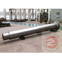 Wholesale Large Shaft Forged Spindle ASTM GB , Finish / Rough Machined Forging from china suppliers