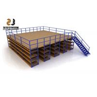Wholesale Boltless / Rivet Shelving Mezzanine Floor Systems , Max 6000mm Upright from china suppliers