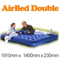 Wholesale Comfortable 140cm Inflatable Air Beds 0.55mm PVC With EN71 SGS from china suppliers