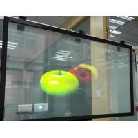 Wholesale 3D Holographic Adhesive Rear Projection Film For Display , Durable from china suppliers