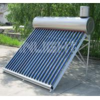Wholesale Evacuated Tube Low Pressure Solar Water Heater Free Maintenance CE Approved from china suppliers