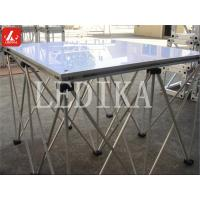 Wholesale Dragnet Stage Aluminum Stage Platform 0.2 - 0.8 Height Efficiency Folding Stage from china suppliers