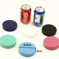 Quality Eco Friendly 100ml Round Plastic Beer Holder Cooler MSDS CPSIA Approve for sale