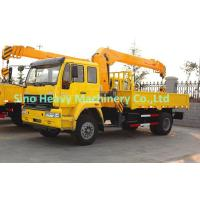 Wholesale Diesel SQ5SK3Q Truck Mounted Crane , 5 TON Telescoping Boom Crane from china suppliers