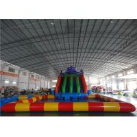 Wholesale 9mx9m Colorful Inflatable Water Park With Octopus Shape Slide from china suppliers