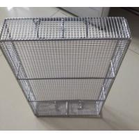 Buy cheap Heavy duty hebei supply 316 stainless steel wire mesh medical equipment basket from wholesalers
